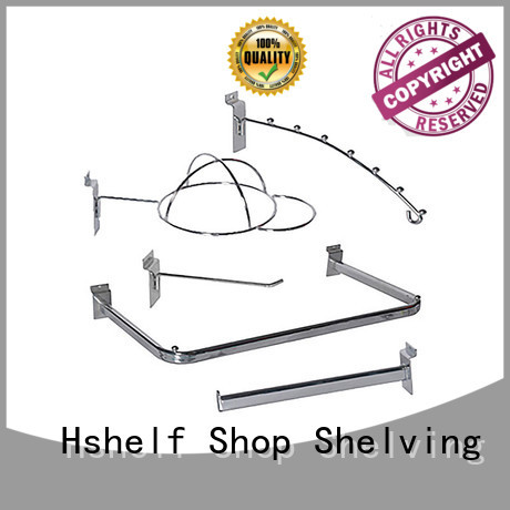 retail shelving accessories manufacturer for retail shelf Hshelf