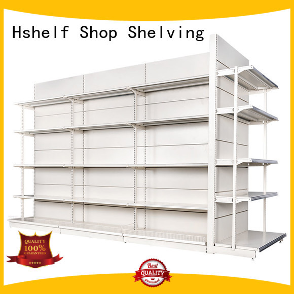 stable wire storage shelves design for supermarkets