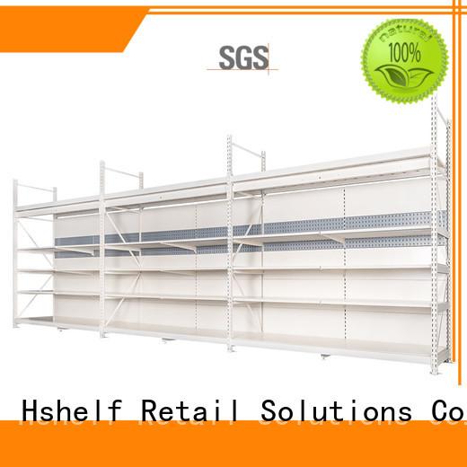 Hshelf heavy-duty retail shelving system for store