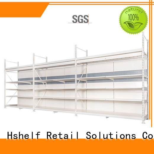 Hshelf heavy-duty retail shelving system for store