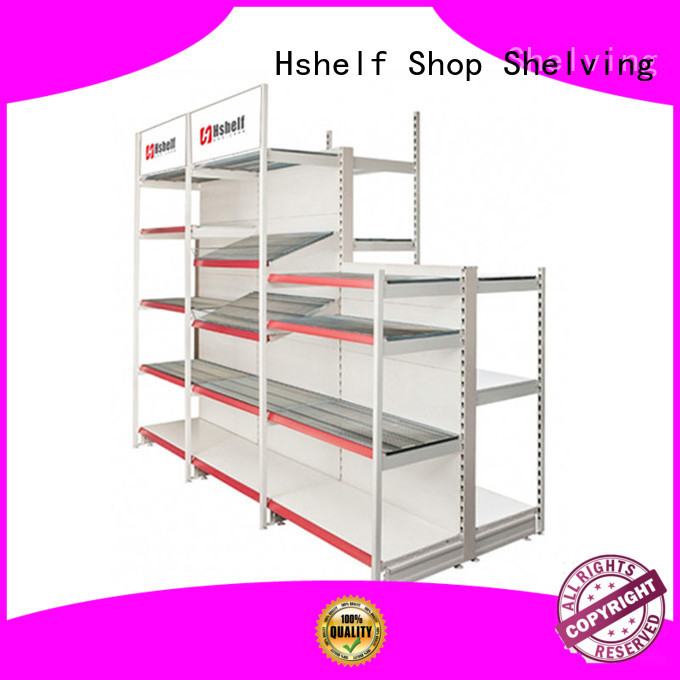 retail wall shelving with good price for store Hshelf