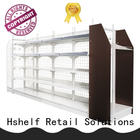 Hshelf grocery store shelves customized for small store