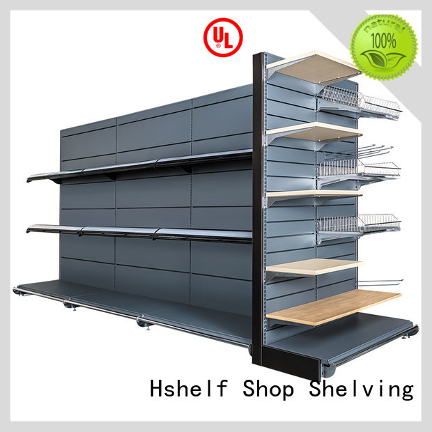 stable wire storage shelves design for grocery store