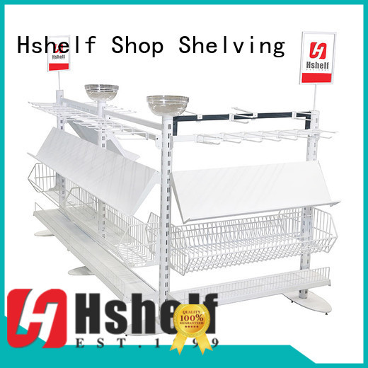 Hshelf odm custom made shop fittings for display
