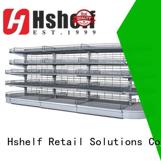 Hshelf warehouse shelving design for wholesale markets