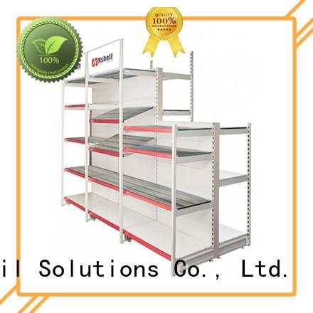 Hshelf simple structure retail shop shelving design for store