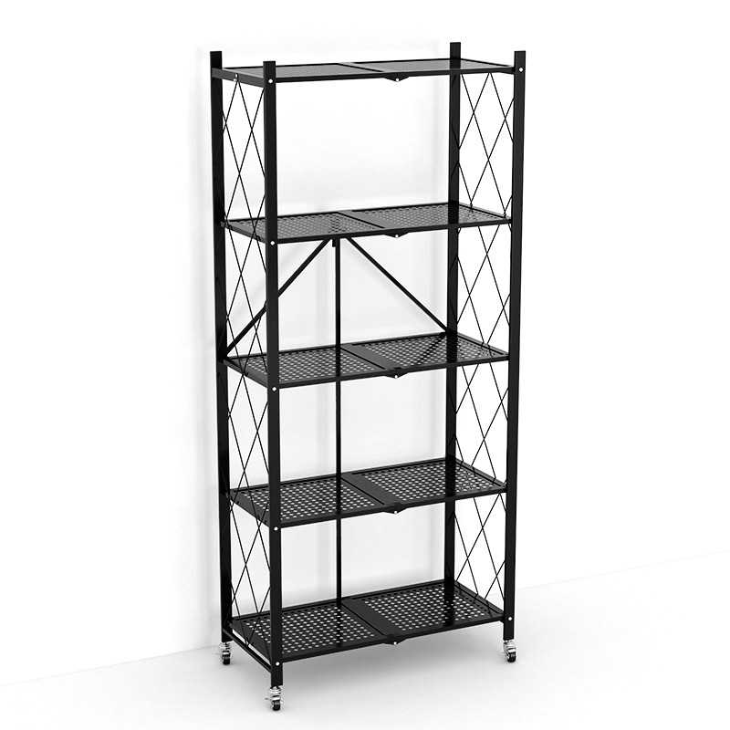 Folding Household Metal Shelving For Decoration & Storage