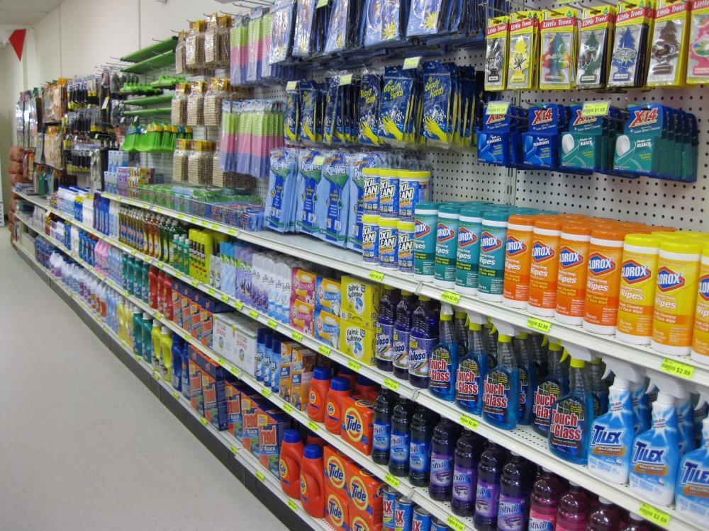 Wall unit retail shop shelvings