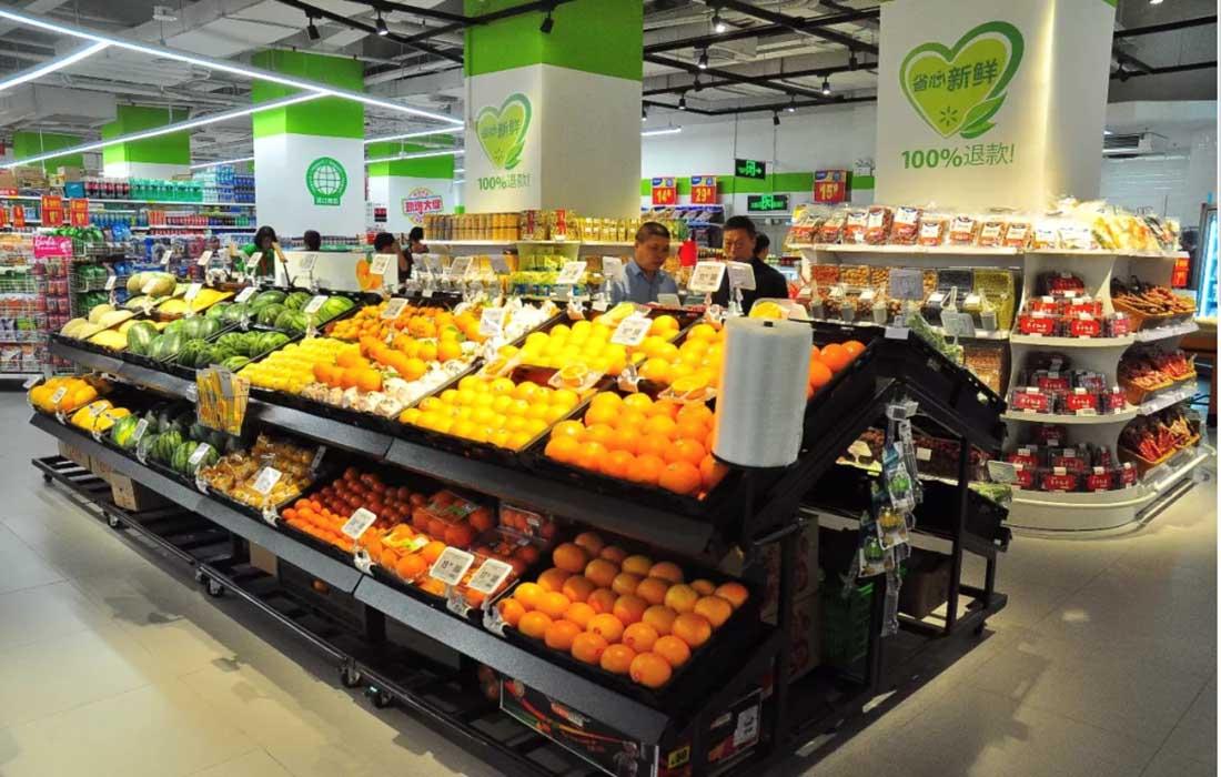fruit vegetable racks