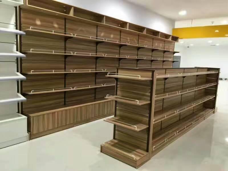 steel and wood shelf