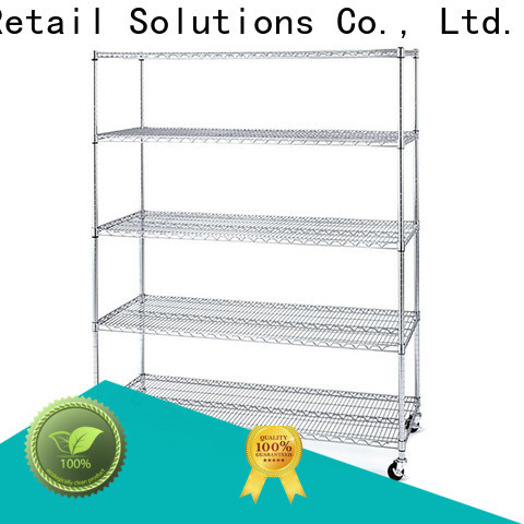 Hshelf adjustable level wire rack series for retail shops