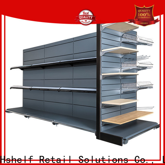 Hshelf different shape metal wire shelving factory for supermarkets