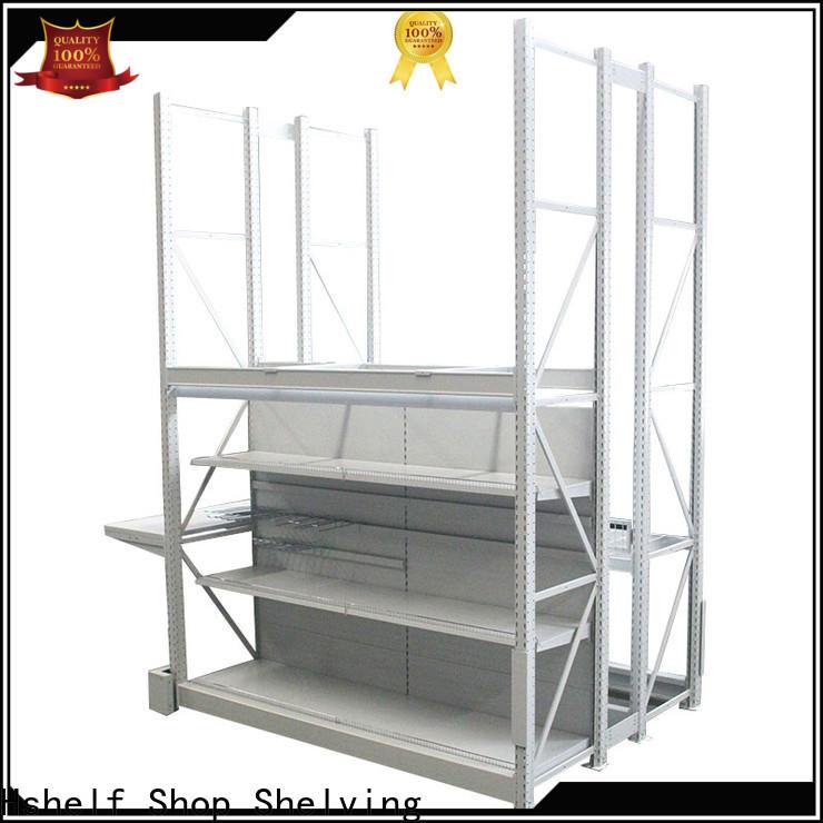 Hshelf heavy duty shelving customized for shop