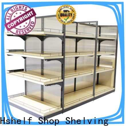 Hshelf economical convenience store shelving manufacturer for express store