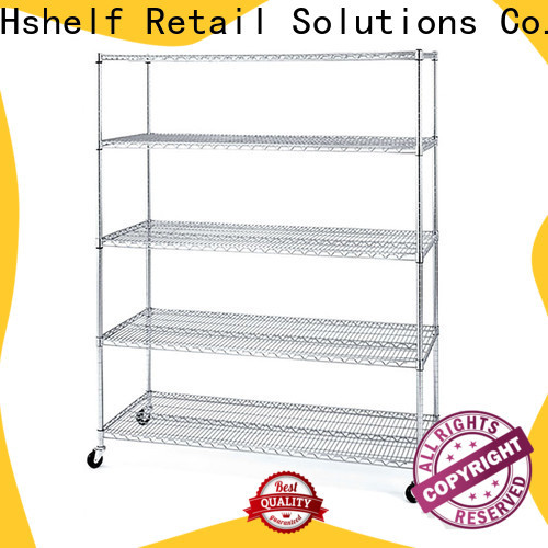 Hshelf stainless steel wire shelves manufacturer for DIY store