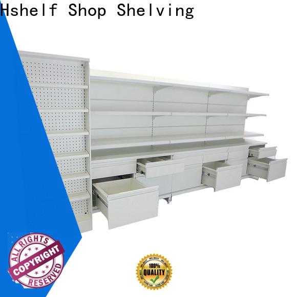 Hshelf pharmacy shelving design for cosmetic store