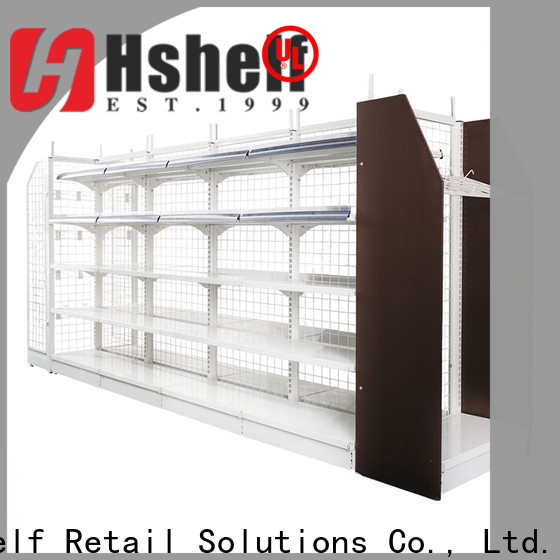 Hshelf store display fixtures customized for convenience store