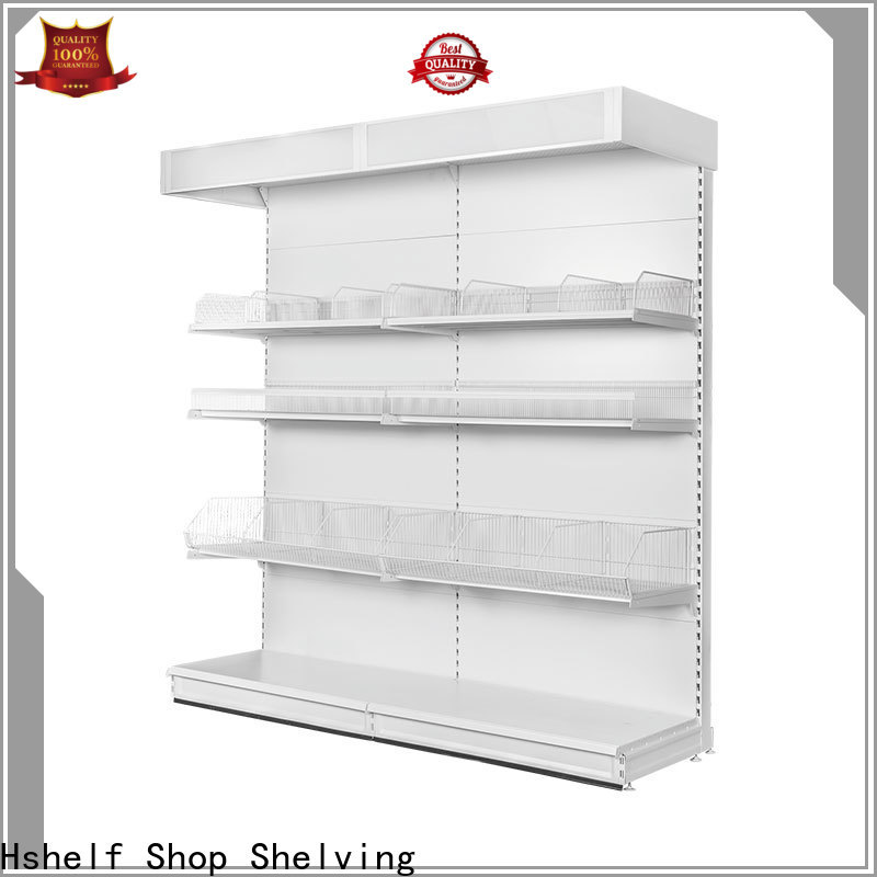 Hshelf regular size metal shelving unit with good price for wholesale markets