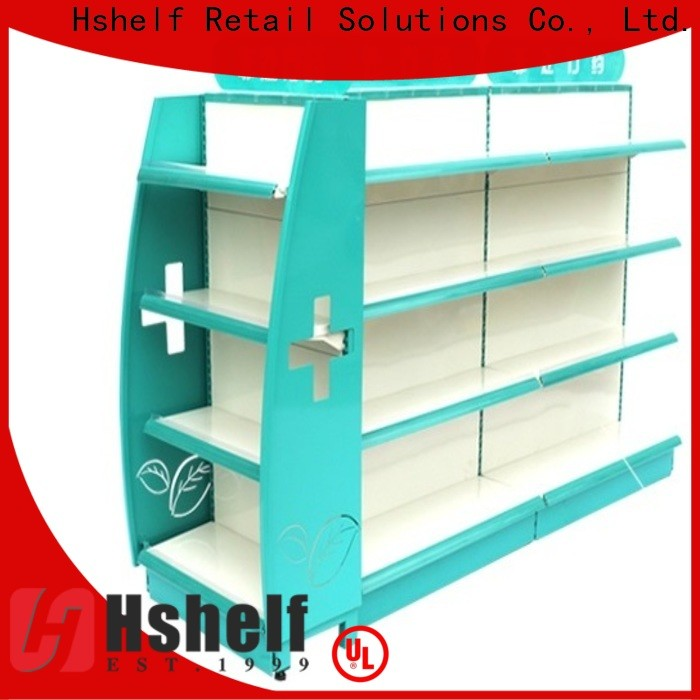 Hshelf shelf pharmacy with good price for cosmetic store