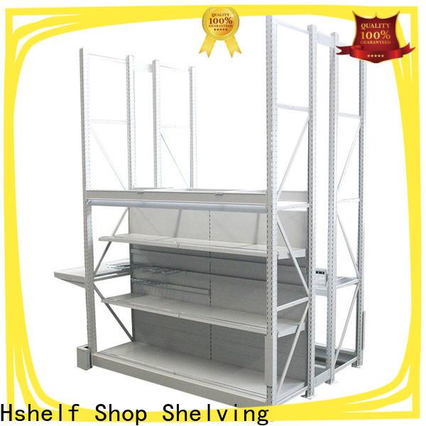 Hshelf custom heavy duty metal shelving series for shop
